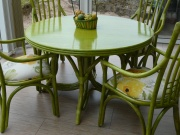 Table Bali Ronde Fixe -